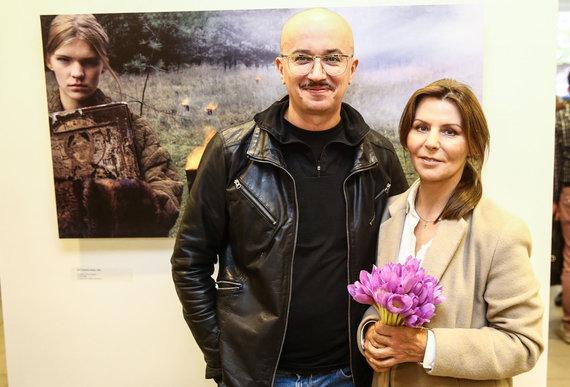 Luko Balandžio/Žmonės.lt nuotr./Aleksandras Pogrebnojus ir Vida Simanavičiūtė