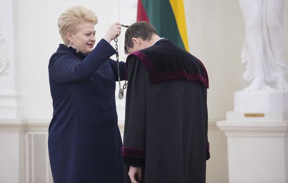 Luko Balandžio/Žmonės.lt nuotr./Dalia Grybauskaitė ir Mindaugas Nekrašas