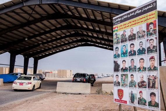 Luko Balandžio / 15min nuotr./Mosulo mūšyję žuvę pešmergos