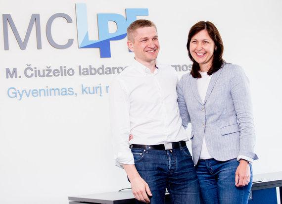 Luko Balandžio / 15min nuotr./Marius ir Kristina Čiuželiai