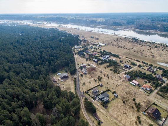 Luko Balandžio / 15min nuotr./Kulautuvos bendruomenę neramina jau keletą metų gana gausiai kertami miškai