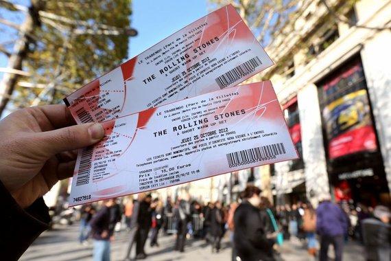 """""""Scanpix"""" nuotr./Bilietai į """"The Rolling Stones"""" koncertą"""