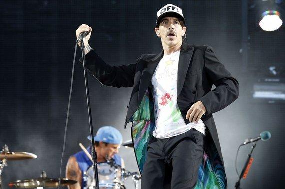 """""""Scanpix"""" nuotr./19 vieta – amerikiečių rokeriai """"Red Hot Chili Peppers"""" – 39 mln. JAV dolerių"""