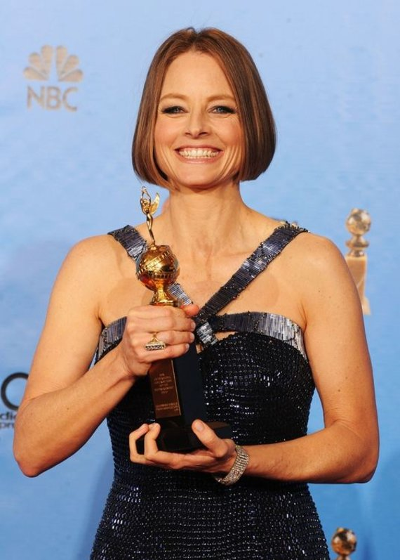 """""""Scanpix"""" nuotr./Jodie Foster pelnė apdovanojimą už viso gyvenimo nuopelnus"""