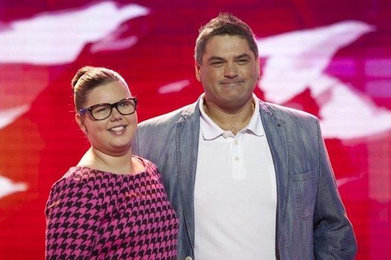 Mariaus Žičiaus nuotr./Vitalijus Cololo su dukra Evita