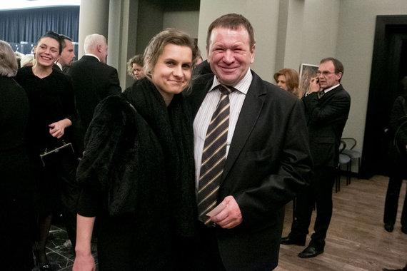 Teodoro Biliūno/Žmonės.lt nuotr./Kęstutis Pūkas ir Lina Pūkienė
