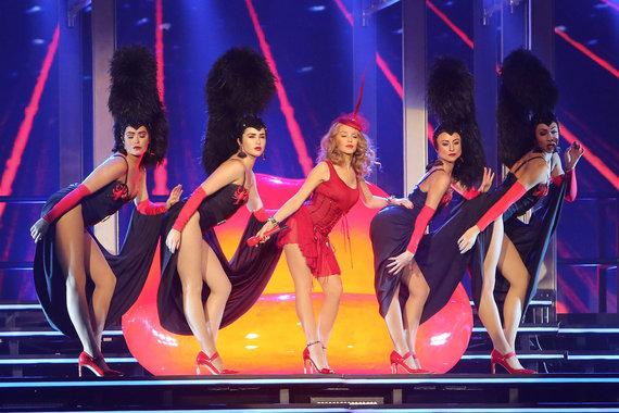 Teodoro Biliūno/Žmonės.lt nuotr./Kylie Minogue Kaune