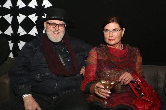 Teodoro Biliūno/Žmonės.lt nuotr./Virgis Stakėnas su žmona Ramute