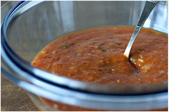 A. Černės nuotr./Raudonoji salsa