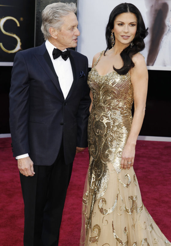 Scanpix nuotr. / Michael Douglas ir Catherine Zeta-Jones