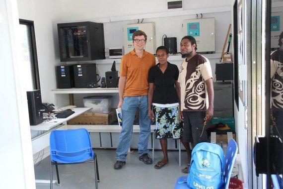 Nuotr. iš asmeninio albumo/Vanuatu telecentras