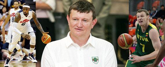 LeBronas Jamesas, Sergejus Jovaiša ir Martynas Pocius