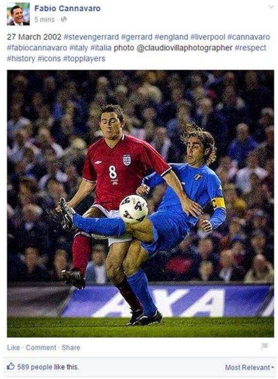 F.Cannavaro žinutė