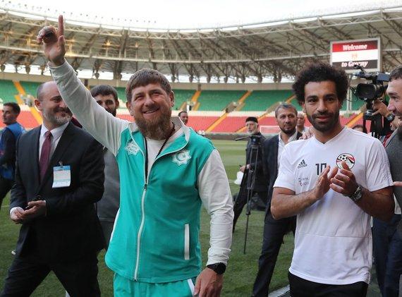 """""""Scanpix""""/AP nuotr./Mohamedas Salah ir Ramzanas Kadyrovas"""