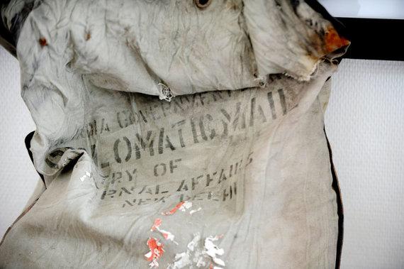 """AFP/""""Scanpix"""" nuotr./Diplomatinis Indijos paštas"""