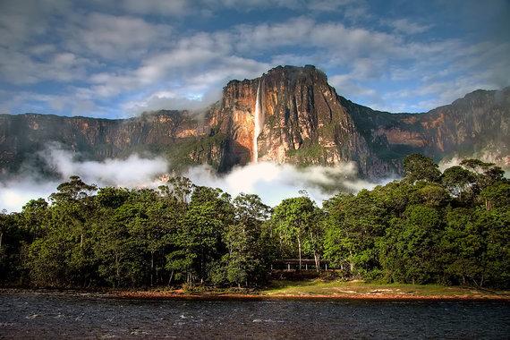 Shutterstock.com nuotr./Anchelio krioklys, Venesuela
