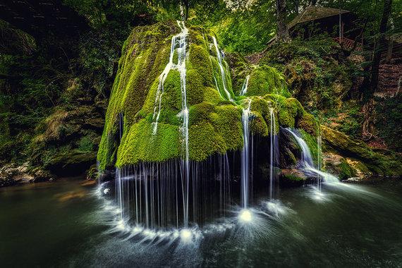 Shutterstock.com nuotr./Bigaro krioklys, Rumunija