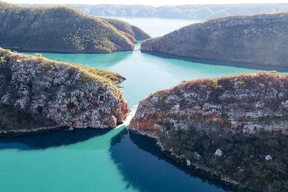Shutterstock.com nuotr./Horizontalus krioklys, Australija