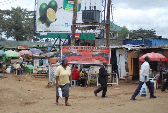 Eglės Zicari nuotr./Turgus Kenijos sostinėje Nairobyje