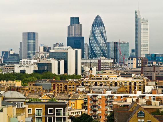 Shutterstock.com nuotr./30 St Mary Axe, Londonas