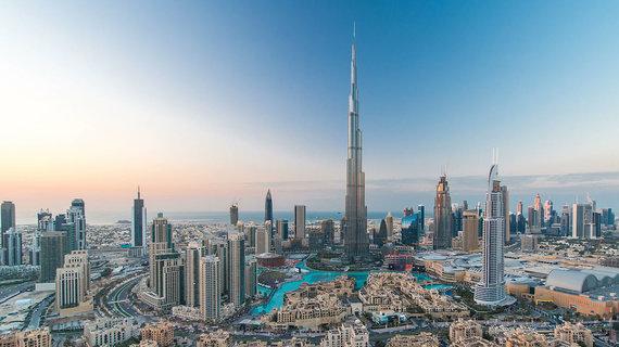 Shutterstock.com nuotr./Burdž Chalifa dangoraižis, Dubajus