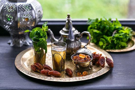 Shutterstock.com nuotr./Mėtų arbata