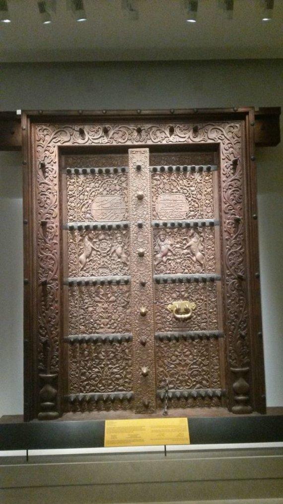 Asm.archyvo nuotr./Durys į Omaną. Nacionalinis muziejus