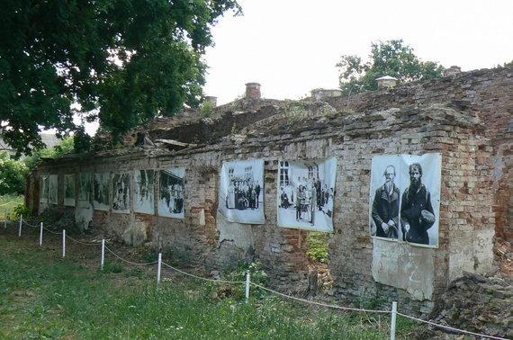 A.Kaminskienės nuotr./Vaitkuškio dvaro griuvėsiai