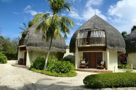 Shutterstock.com nuotr./Maldyvų kaimelis