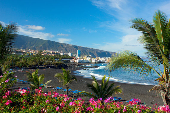 Shutterstock.com nuotr./Playa Jardin paplūdimys