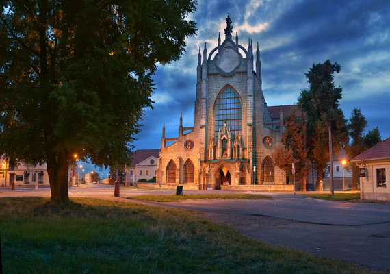 CzechTourism nuotr./Sedleco Mergelės Marijos ėmimo dangun katedra Kutnoje Horoje