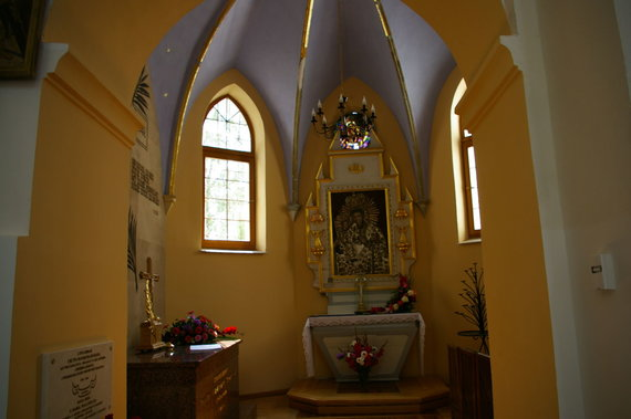 Asm.archyvo nuotr./Parapijinė bažnyčia kurioje tuokėsi Jogaila
