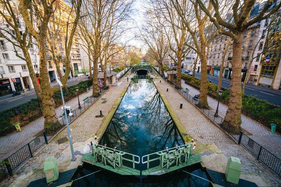 123rf.com nuotr./San Marteno kanalas Paryžiuje