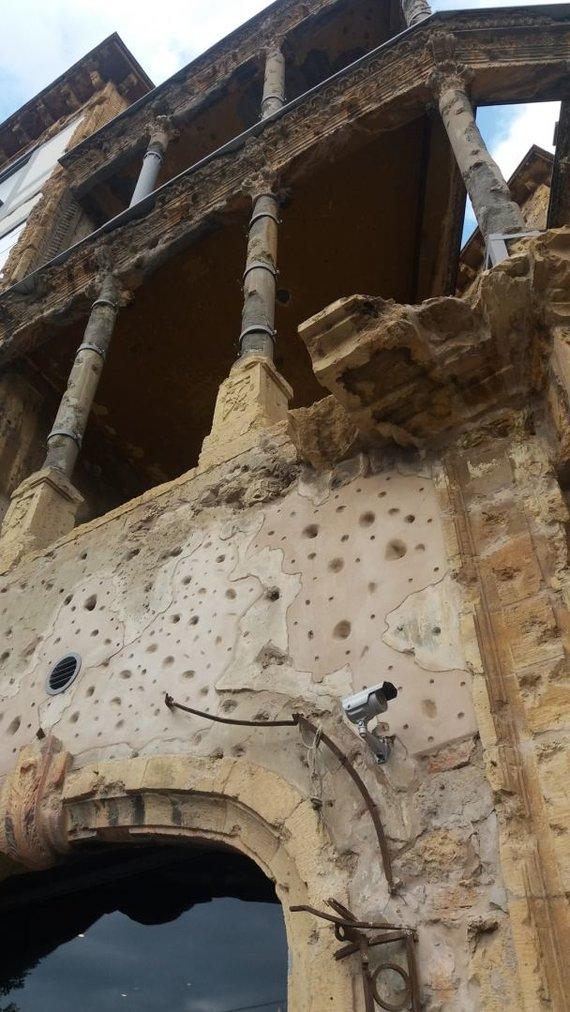 Aušrinės nuotr./Beit Beirut pastatas