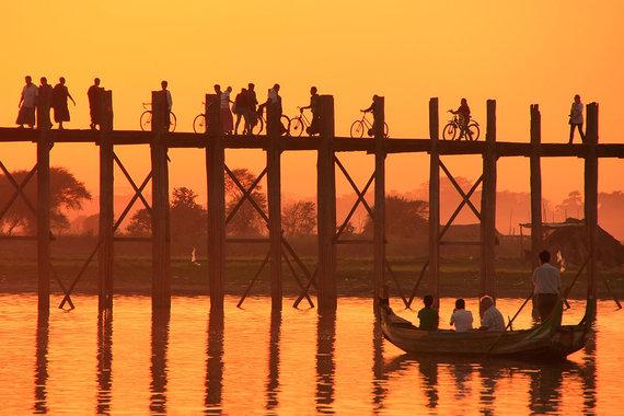 Shutterstock.com nuotr./U Bein tiltas