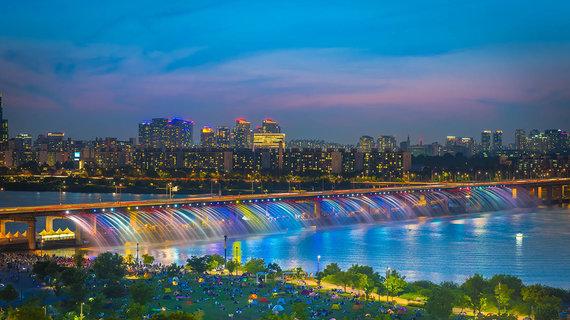 Shutterstock.com nuotr./Banpo tiltas Pietų Korėjoje