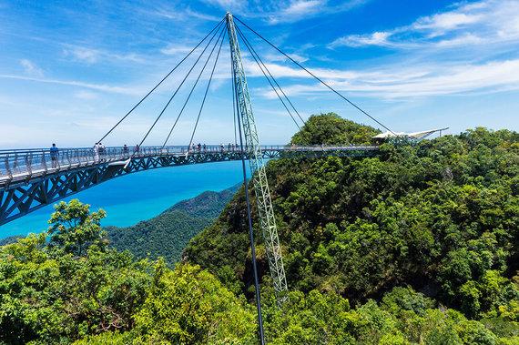 Shutterstock.com nuotr./Langkavio Dangaus tiltas Malaizijoje