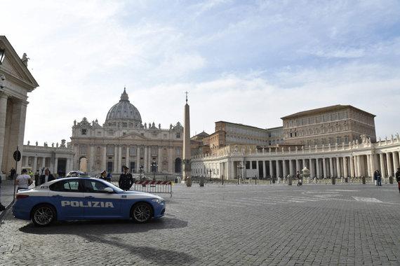 "AFP/""Scanpix"" nuotr./Policija Vatikane"