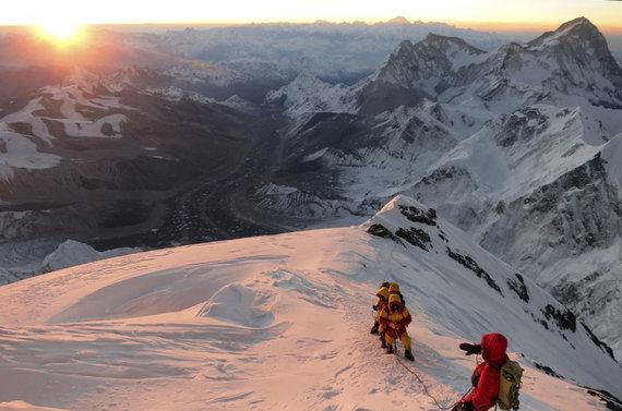 """""""Scanpix""""/AP nuotr./Kopimas į Everestą"""