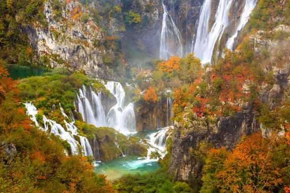 123rf.com nuotr./Plitvicos ežerai Kroatijoje
