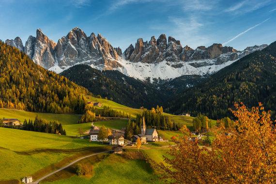 123rf.com nuotr./Dolomitinės Alpės