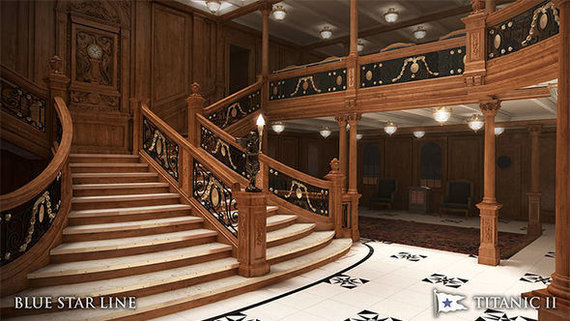 """""""Blue Star Line"""" iliustr./Titanikas II"""