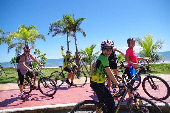 """""""Baltic Tours"""" nuotr./Tarptautinė dviračių žygio komanda"""