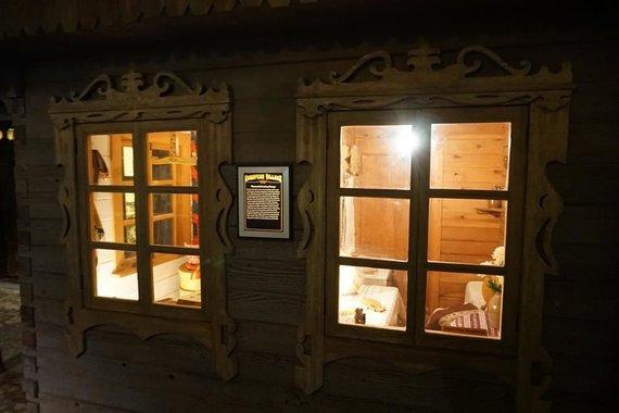 """""""Tikslas – Amerika"""" nuotr./Lietuviška gryčia Europos kaimo ekspozicijoje miesto muziejuje"""