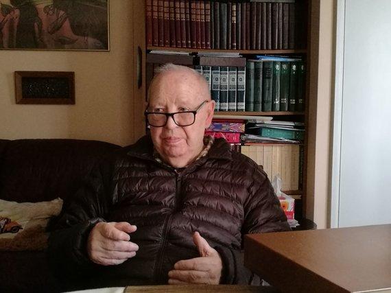 J.Blažiūno nuotr./Australijos fenomenologijos draugijos vienas iš steigėjų, Australijos lietuvių bendruomenės veikėjas prof. Dr. Vytautas Doniela
