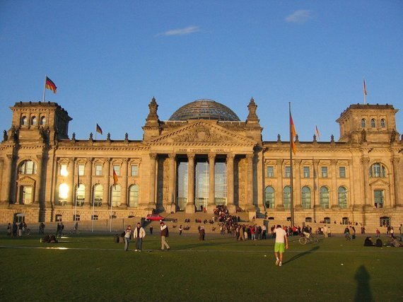 V.Mikaičio nuotr./Reichstagas