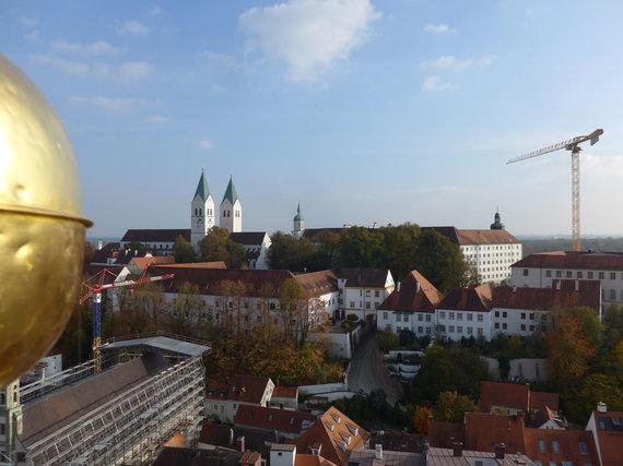 D.Loher nuotr./Domberg kalva. Vaizdas iš Šv.Jurgio bažnyčios bokšto apžvalgos aikštelės