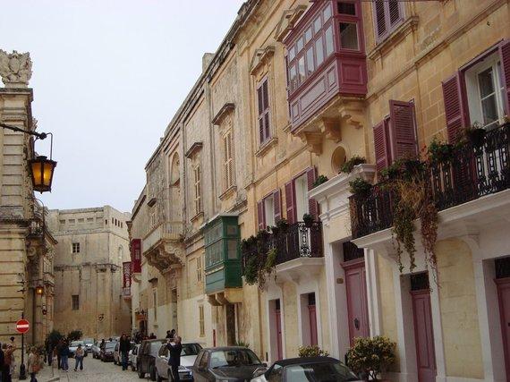 V.Mikaičio nuotr./Maltos miestų ir miestelų vaizdai