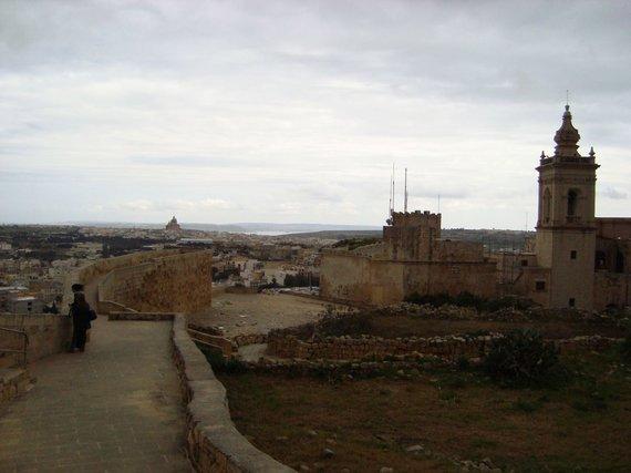 V.Mikaičio nuotr./Gozo salos panorama