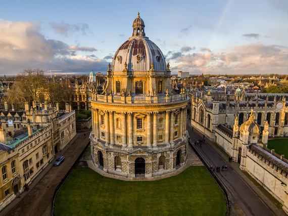 Shutterstock.com nuotr./Bodleiano biblioteka, Oksfordas